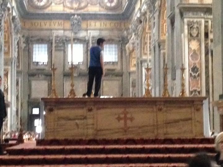 Italy - Pope's Altar