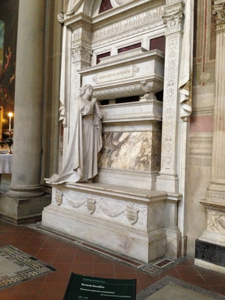 Italy - Tomb of Gioachino Rossini