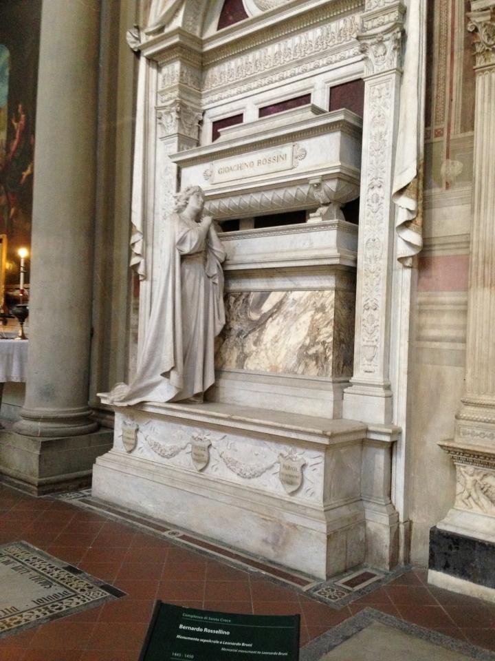 Italy - Tomb of Gioachino Rossini
