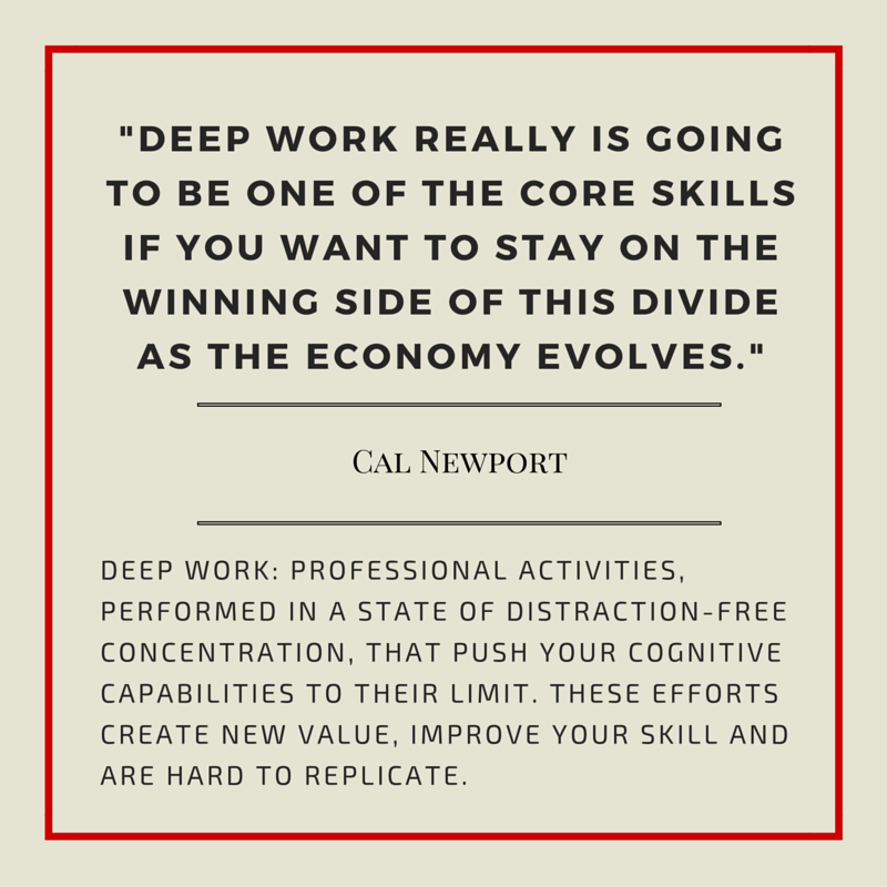 How are we supporting learners' ability to engage in deep work? #edchat #leadupchat #edleader21