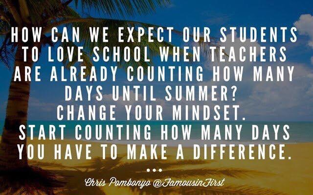 As we approach the end of the school year… #edchat #edadmin ...