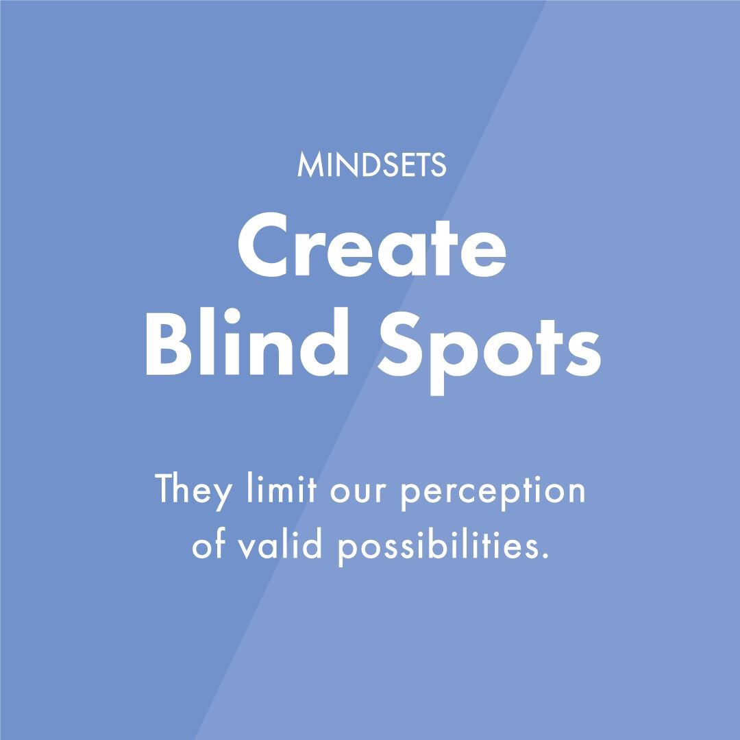 Blind Quotes Mindsets Create Blind Spots Learning Edreimagined Education